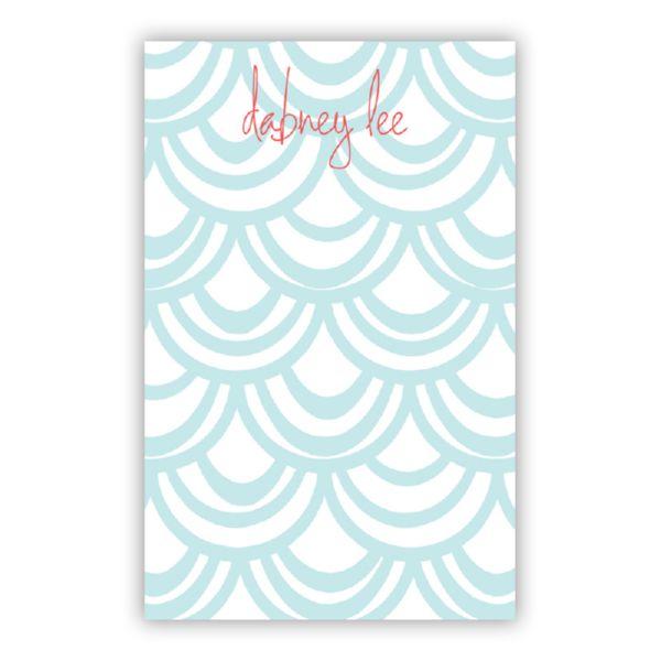 Seashells Personalized Everyday Pad, 150 sheets