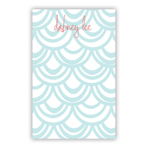 Seashells Personalized Loose Refill Note Sheets (150 sheets)