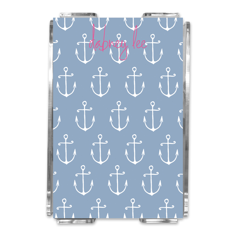 Salty Personalized Memo Notes in Holder (150 sheets)