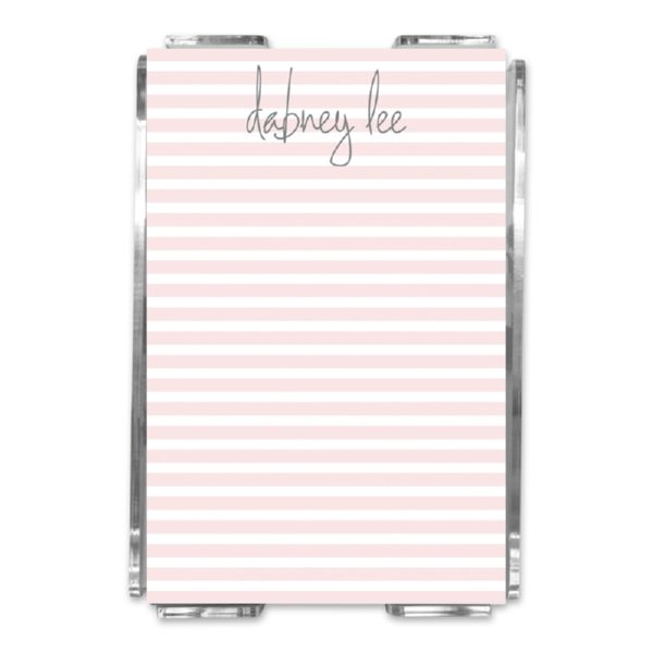 Cabana 2 Personalized Memo Notes in Holder (150 sheets)