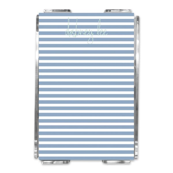 Cabana 3 Personalized Memo Notes in Holder (150 sheets)
