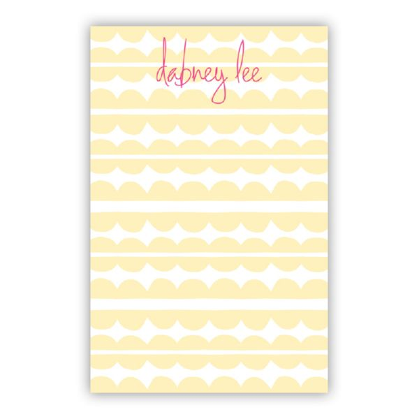 Caterpillar Personalized Everyday Pad, 150 sheets