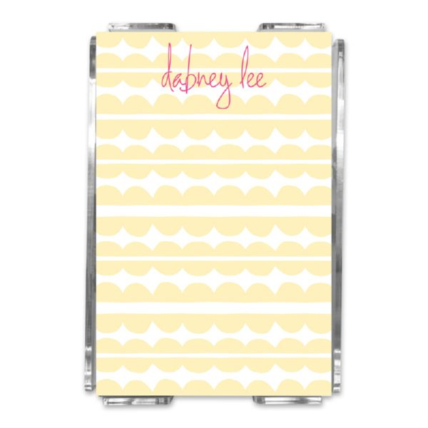 Caterpillar Personalized Memo Notes in Holder (150 sheets)