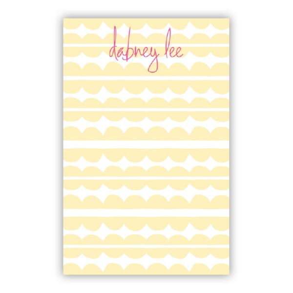 Caterpillar Personalized Loose Refill Note Sheets (150 sheets)