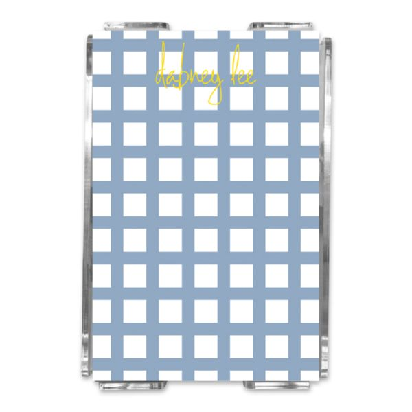 Checks & Balances Personalized Memo Notes in Holder (150 sheets)