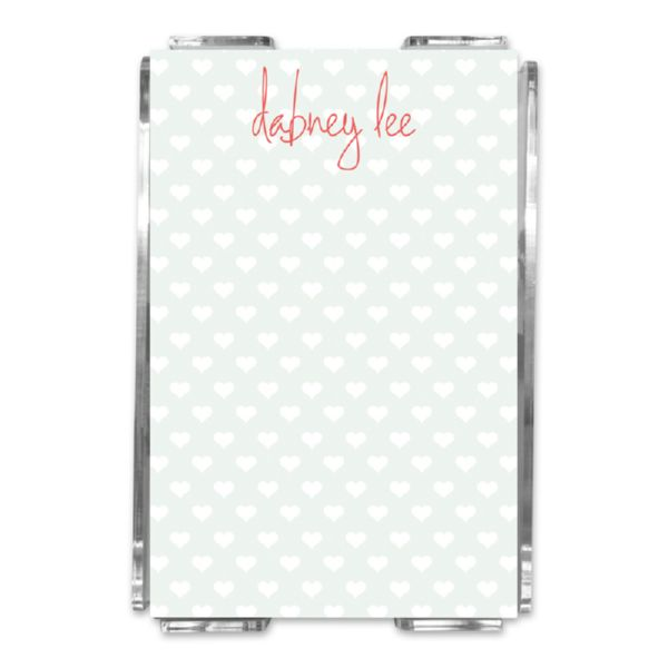 Minnie Personalized Memo Notes in Holder (150 sheets)