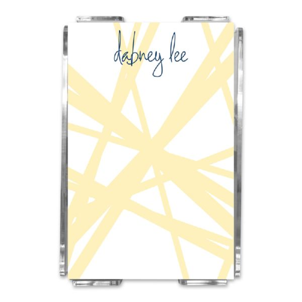 Pick Up Stix Personalized Memo Notes in Holder (150 sheets)