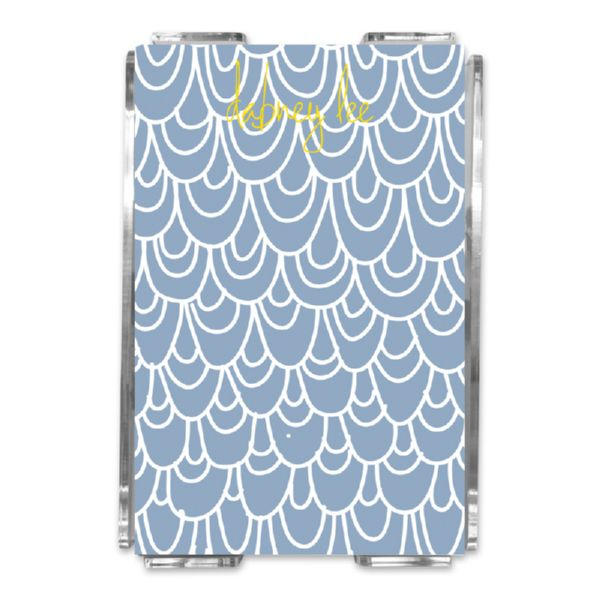 Top Deck Personalized Memo Notes in Holder (150 sheets)