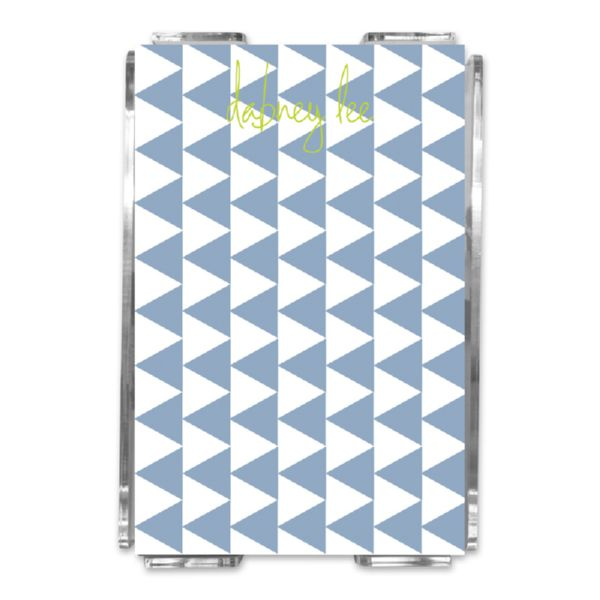 Try Me Personalized Memo Notes in Holder (150 sheets)