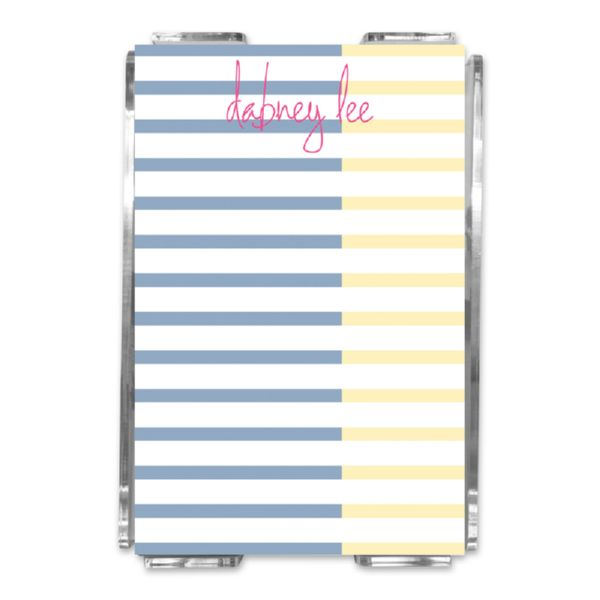 Twice As Nice Personalized Memo Notes in Holder (150 sheets)