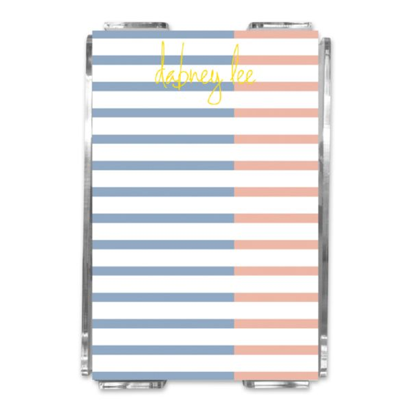 Twice As Nice 2 Personalized Memo Notes in Holder (150 sheets)