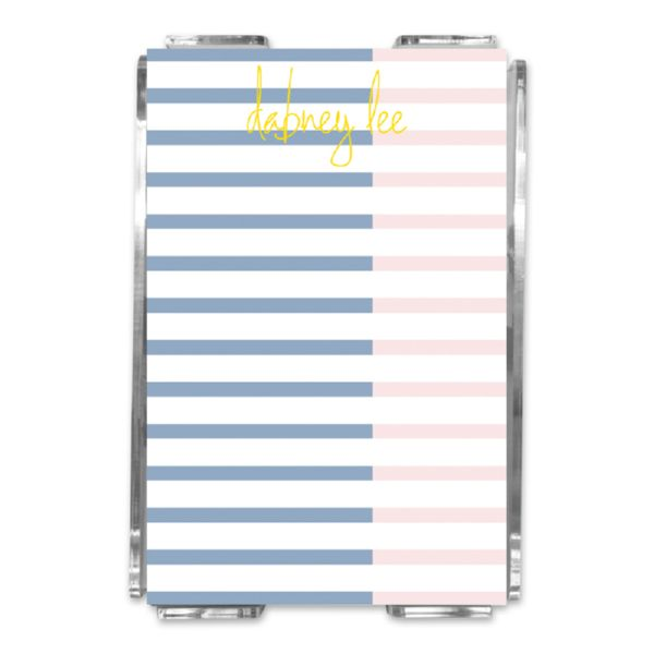 Twice As Nice 3 Personalized Memo Notes in Holder (150 sheets)