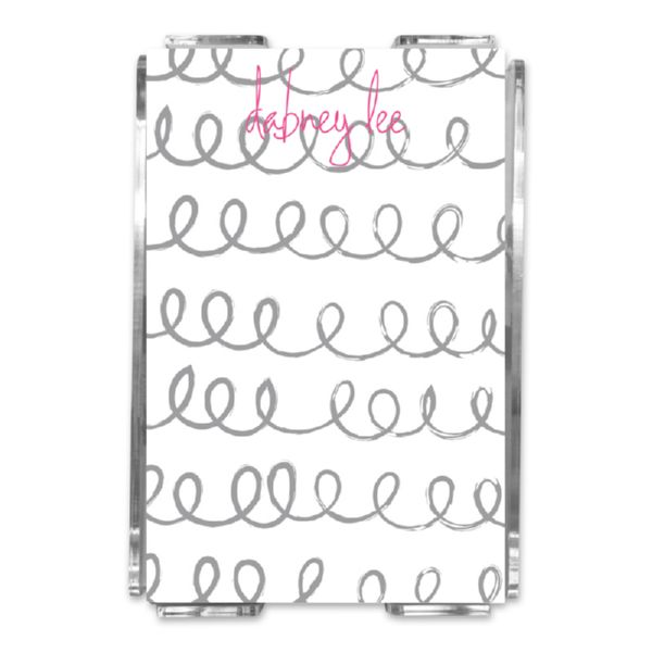Weeeee Personalized Memo Notes in Holder (150 sheets)