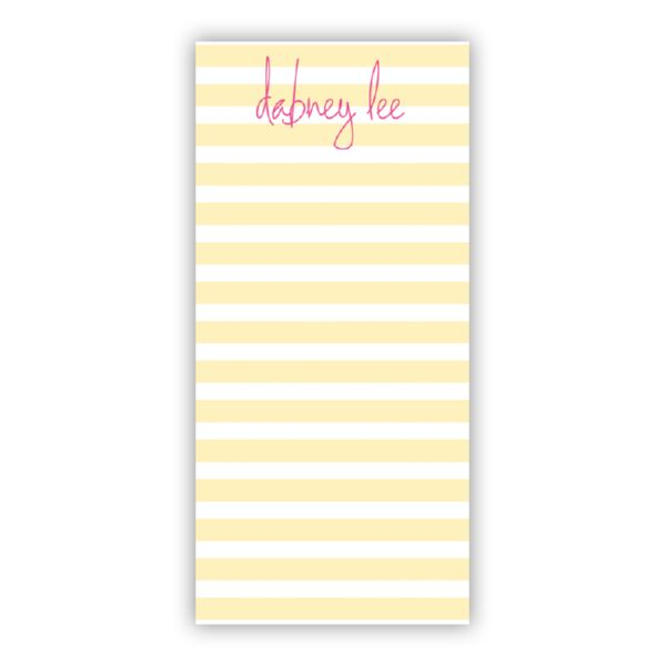 Cabana Personalized Grocery Pad (150 sheets)