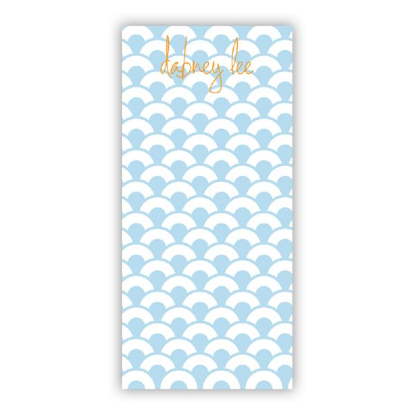 Coins Personalized Grocery Pad (150 sheets)