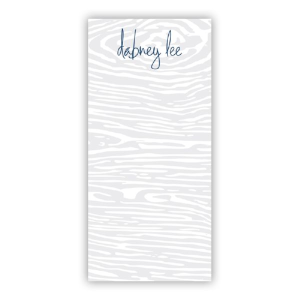 Varnish Personalized Grocery Pad (150 sheets)