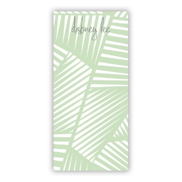 Palm Personalized Grocery Pad (150 sheets)