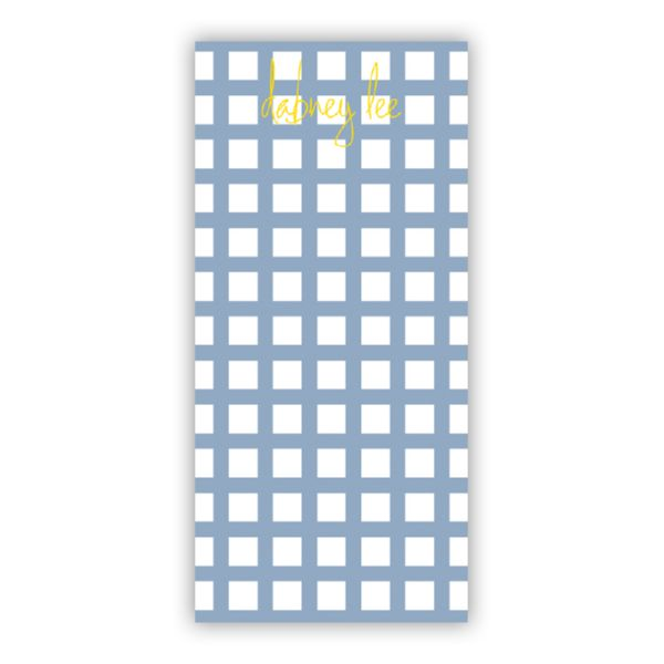 Checks & Balances Personalized Grocery Pad (150 sheets)