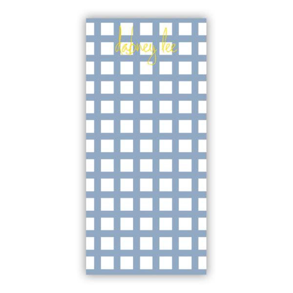 Checks & Balances Personalized Grocery Pad (150 sheets)