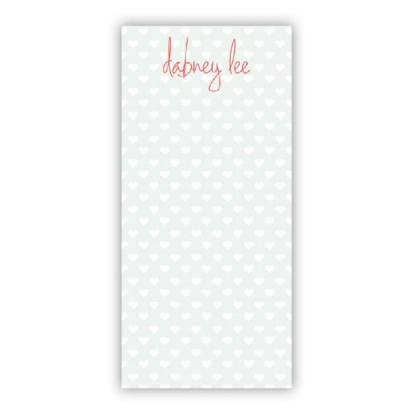 Minnie Personalized Grocery Pad (150 sheets)