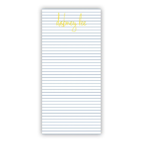 Pinny Personalized Grocery Pad (150 sheets)