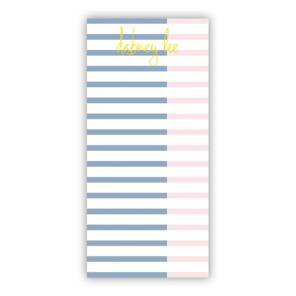 Twice As Nice 3 Personalized Grocery Pad (150 sheets)