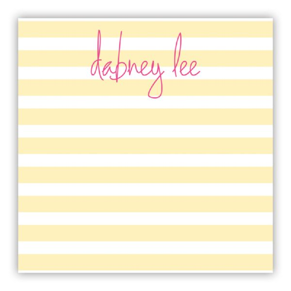 Cabana Personalized Huey Square NotePad (150 sheets)