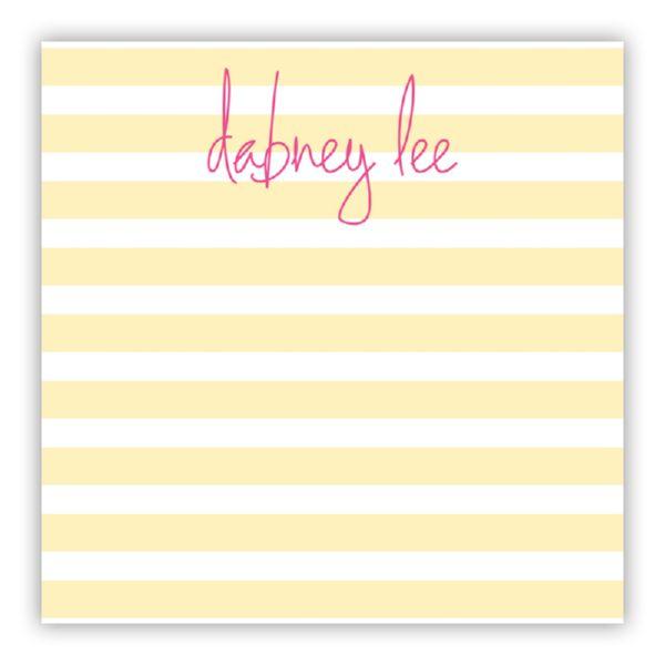 Cabana Personalized Huey Square NotePad (150 sheets)