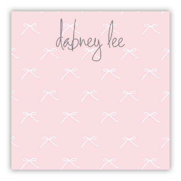 Chloe Personalized Huey Square NotePad (150 sheets)