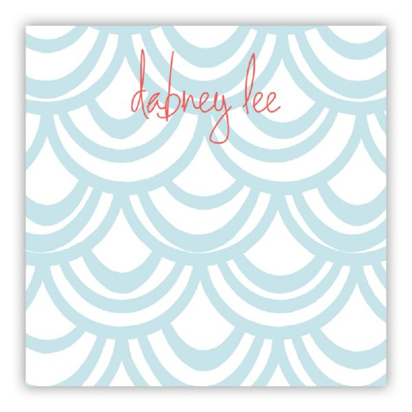 Seashells Personalized Huey Square NotePad (150 sheets)