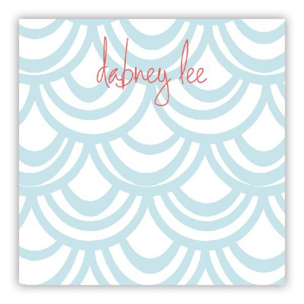 Seashells Personalized Huey Square NotePad (150 sheets)