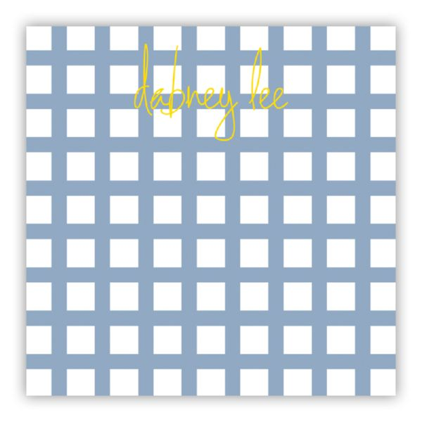 Checks & Balances Personalized Huey Square NotePad (150 sheets)