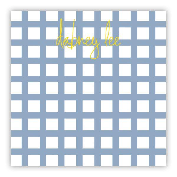 Checks & Balances Personalized Huey Square NotePad (150 sheets)