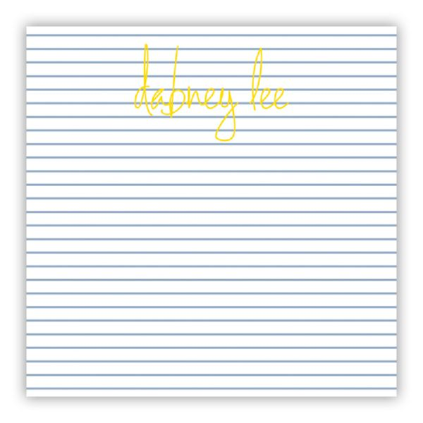 Pinny Personalized Huey Square NotePad (150 sheets)