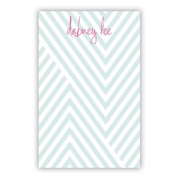 Modern Chevron Personalized Super NotePad (150 sheets)