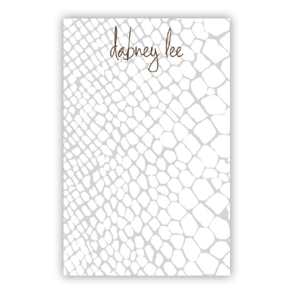 Snakeskin Personalized Super NotePad (150 sheets)