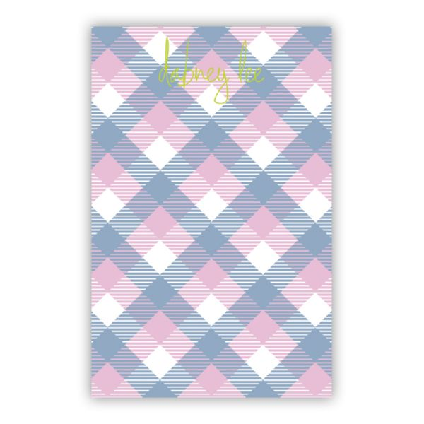 Tartan Personalized Super NotePad (150 sheets)
