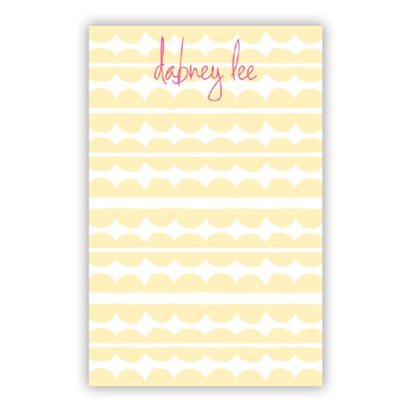 Caterpillar Personalized Super NotePad (150 sheets)