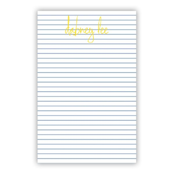 Pinny Personalized Super NotePad (150 sheets)