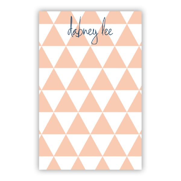 Triangles Personalized Super NotePad (150 sheets)