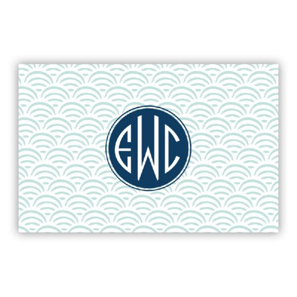 Ella Personalized Double-Sided Laminated Placemat