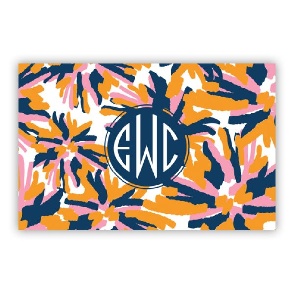 Fireworks Personalized Double-Sided Laminated Placemat