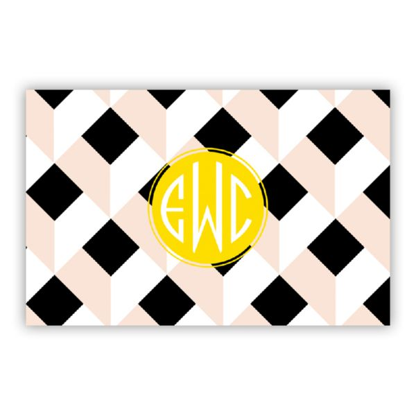 Golden Girl Personalized Double-Sided Laminated Placemat