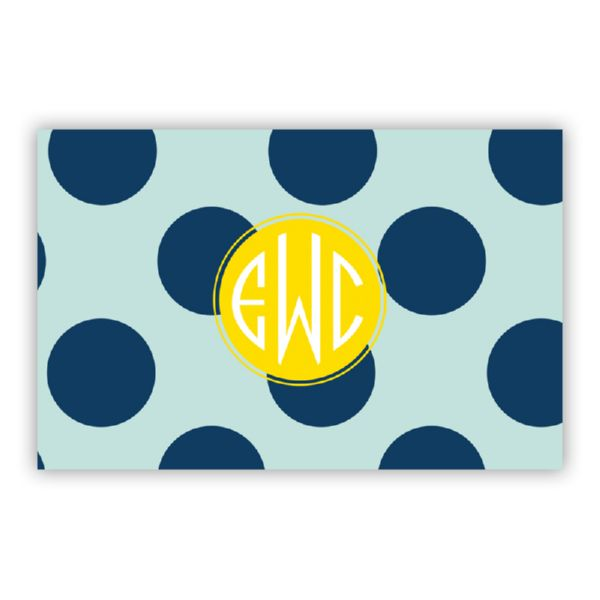 Jane Personalized Double-Sided Laminated Placemat