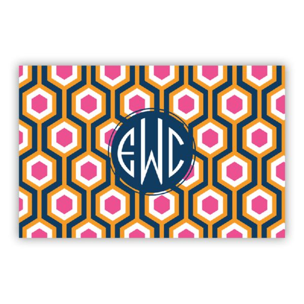 London Calling Personalized Double-Sided Laminated Placemat