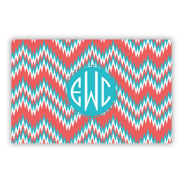 Mission Fabulous Personalized Double-Sided Laminated Placemat