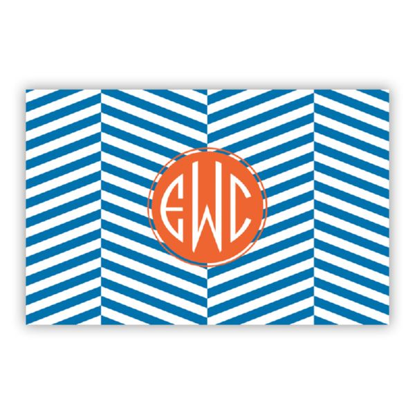 Perspective Personalized Double-Sided Laminated Placemat