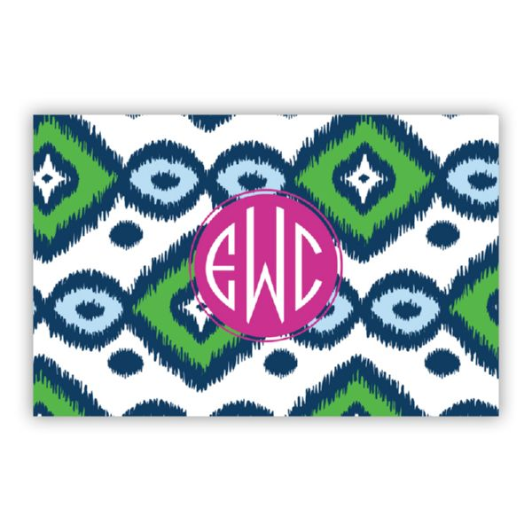 Sunset Beach Personalized Double-Sided Laminated Placemat
