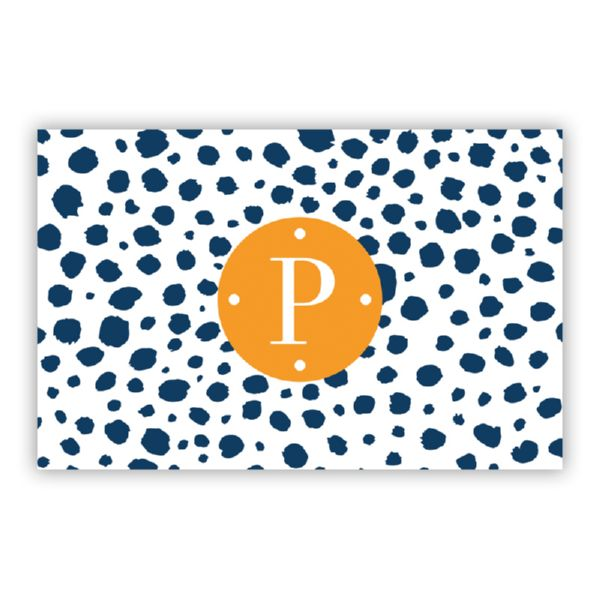 Cheetah Personalized Double-Sided Laminated Placemat