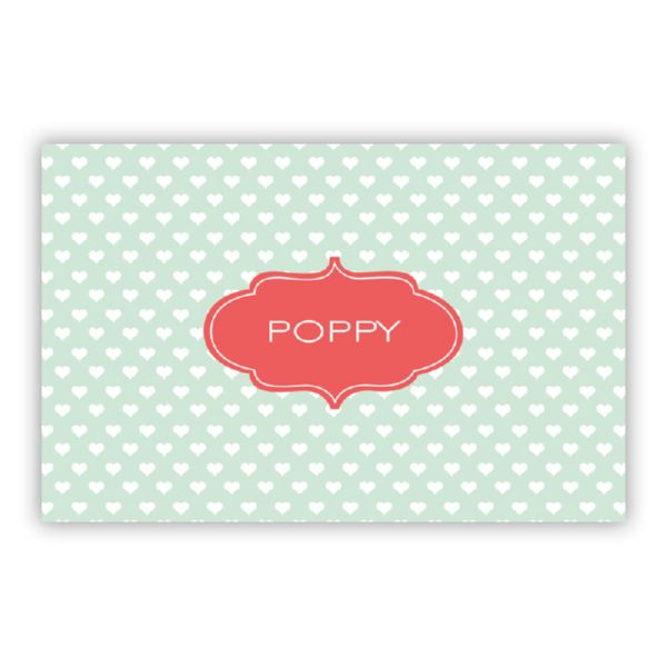 Minnie Personalized Double-Sided Laminated Placemat
